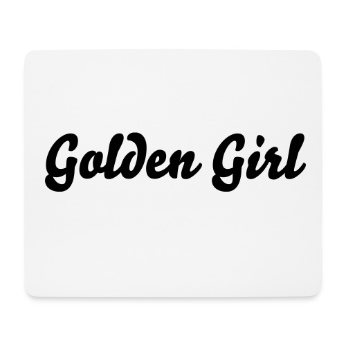 Golden Girl Mouse Pad - Mouse Pad (horizontal)