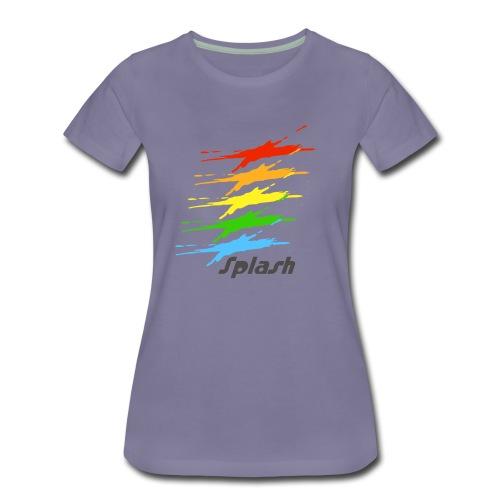 Splash - Womens Premium T-Shirt - Women's Premium T-Shirt