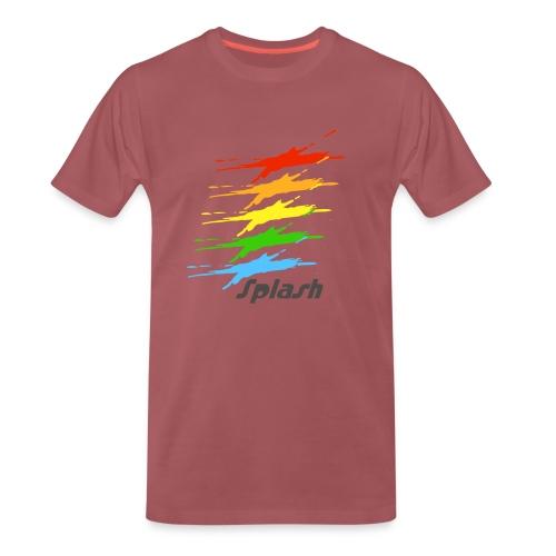 Splash - Mens Premium T-Shirt - Men's Premium T-Shirt
