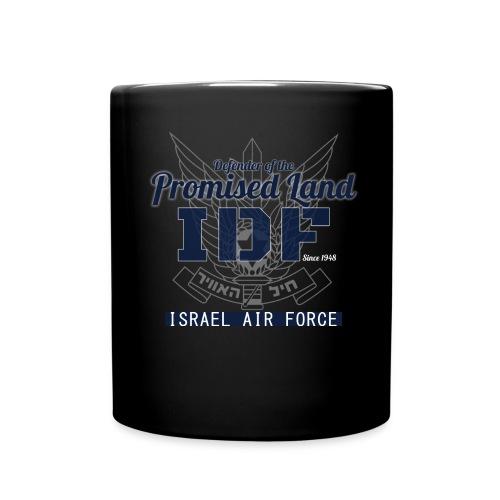 Full Colour Mug - Mug displaying IDF - Defender of the Promised land since 1948 Israel Air Force