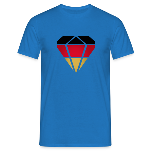 Diamond Germany (Super Blue)  - Männer T-Shirt