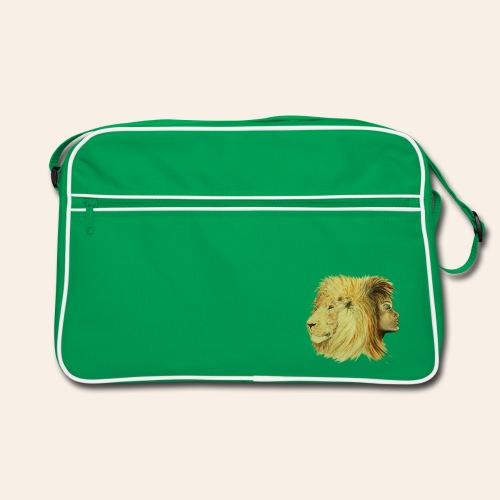 Retro Tasche Löwenfrau - Retro Tasche