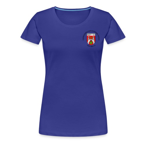 Vereins-T-Shirt, blau, Frauen - Frauen Premium T-Shirt