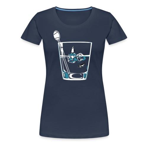 Women's Penguin Tee  - Women's Premium T-Shirt