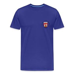 Vereins-T-Shirt, blau, Männer - Männer Premium T-Shirt