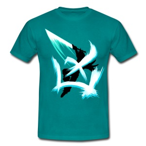 Charge the limit /blau - Männer T-Shirt