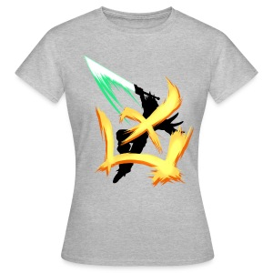 Charge the limit /orange - Frauen T-Shirt