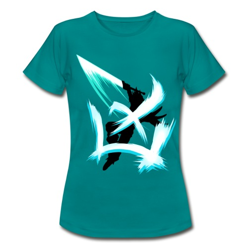Charge the limit /blau - Frauen T-Shirt