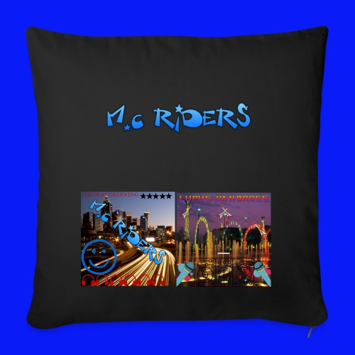 Signed Pillow - Sofa pillow cover 44 x 44 cm