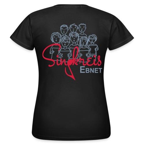 Singkreis Damen-T-Shirt schwarz - Frauen T-Shirt
