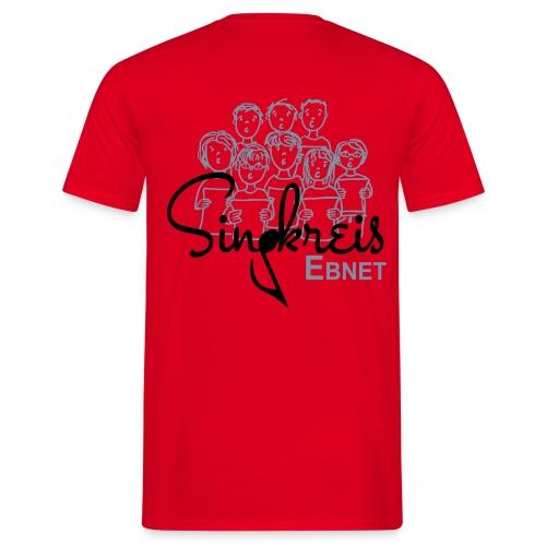 Singkreis Herren-T-Shirt rot - Männer T-Shirt