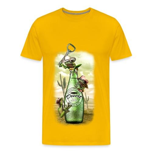 Durstige Frösche - Männer Premium T-Shirt
