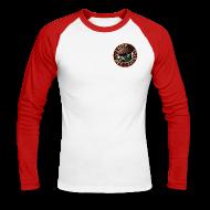 Langarmshirts ~ Männer Baseballshirt langarm ~ Vater des Erfolgs (rot)