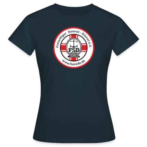 FSD Damen T-Shirt gr. Logo *2* - Frauen T-Shirt