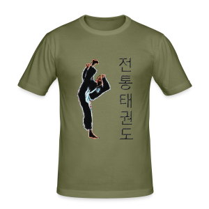 Traditionelles Taekwon-Do - PtollyoOliki - Männer Slim Fit T-Shirt