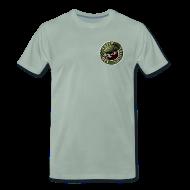 T-Shirts ~ Männer Premium T-Shirt ~ Vater des Erfolgs (green)