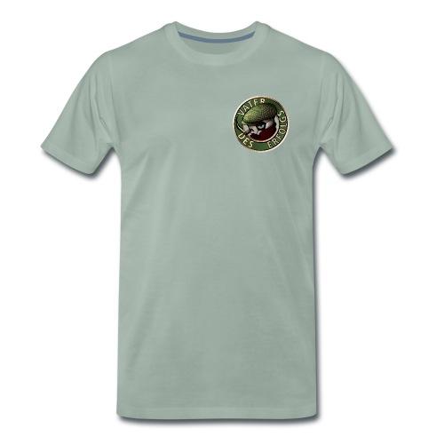 Vater des Erfolgs (green) - Männer Premium T-Shirt