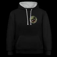 Pullover & Hoodies ~ Kontrast-Kapuzenpullover ~ Vater des Erfolgs (green)
