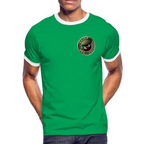 Vater des Erfolgs (green) - Männer Kontrast-T-Shirt