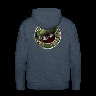 Pullover & Hoodies ~ Männer Premium Kapuzenpullover ~ Vater des Erfolgs (green)
