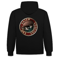 Pullover & Hoodies ~ Kontrast-Kapuzenpullover ~ Vater des Erfolgs (rot)