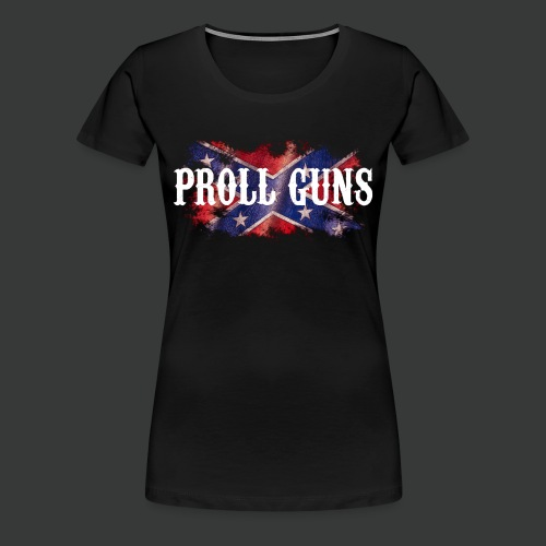 Proll Guns - Western Flag - Frauen Premium T-Shirt