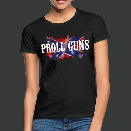 Proll Guns - Western Flag - Frauen T-Shirt