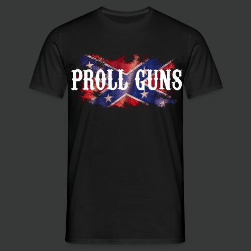 Proll Guns - Western Flag - Männer T-Shirt