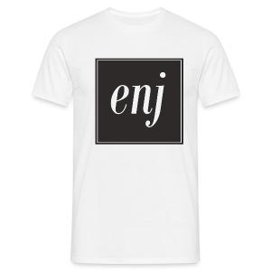 T-Shirt // ENJ // white - Männer T-Shirt
