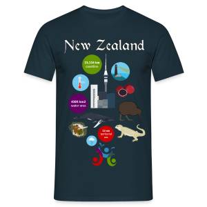 New Zealand - Men's T-Shirt