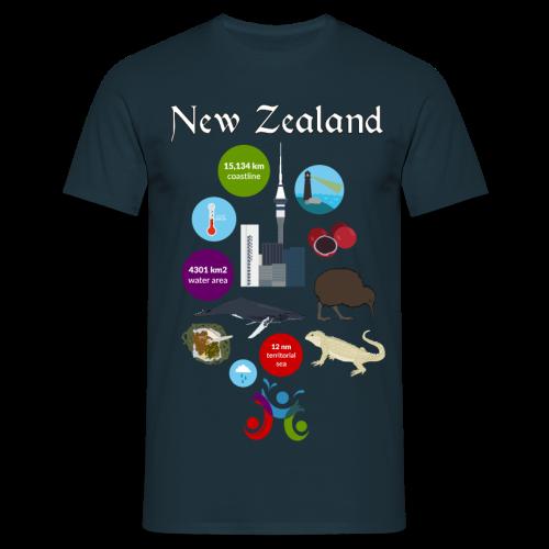 New Zealand - Men's T-Shirt