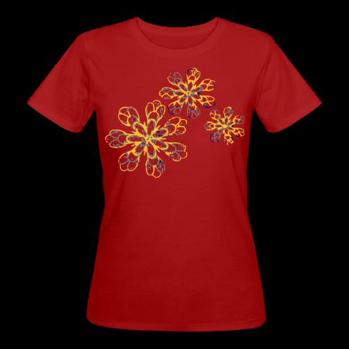 Yellow flower - T-shirt bio Femme