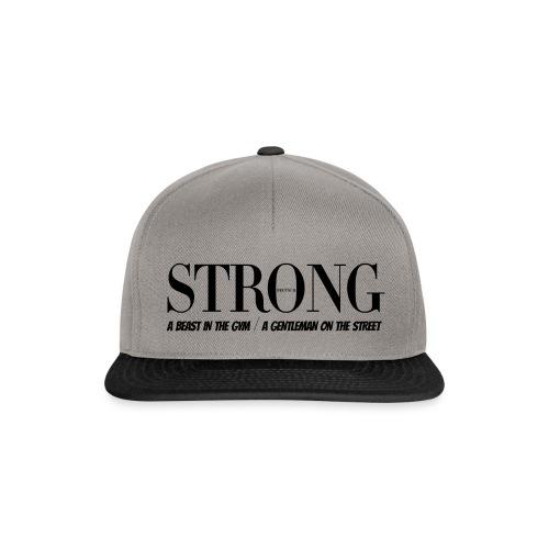 STRONG Cap - Snapback Cap