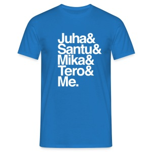 Floorball Stars Finland - Men's T-Shirt