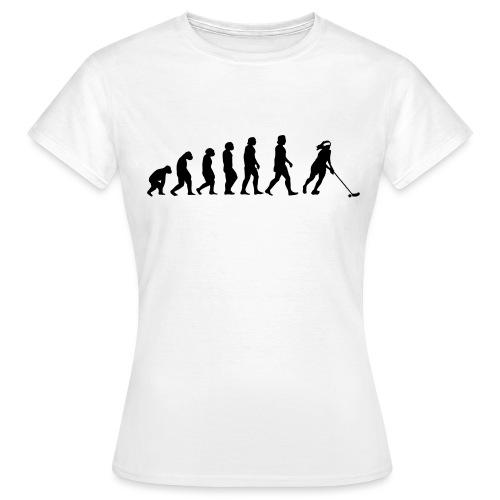 Floorball Evolution Girl - Women's T-Shirt