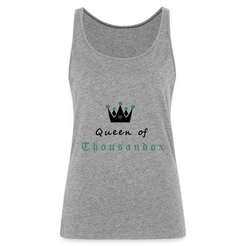 Queen of Thousandox Top Coopercloth - Frauen Premium Tank Top