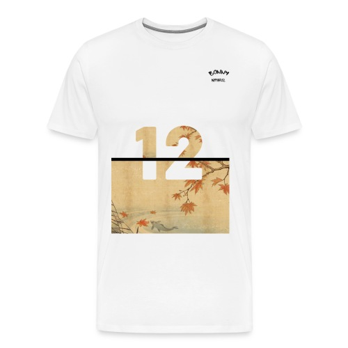 12 Japenese - Men's Premium T-Shirt