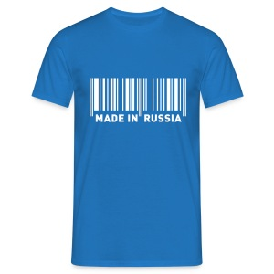 MADE IN RUSSIA - Männer T-Shirt