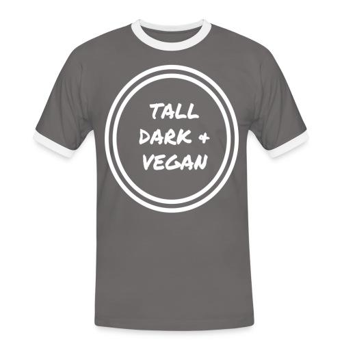 Tall Dark & Vegan Ringer Shirt - Men's Ringer Shirt