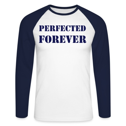 PERFECTED FOREVER - Langermet baseball-skjorte for menn