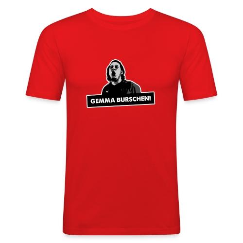 GEMMA BURSCHEN! – Shirt - Männer Slim Fit T-Shirt