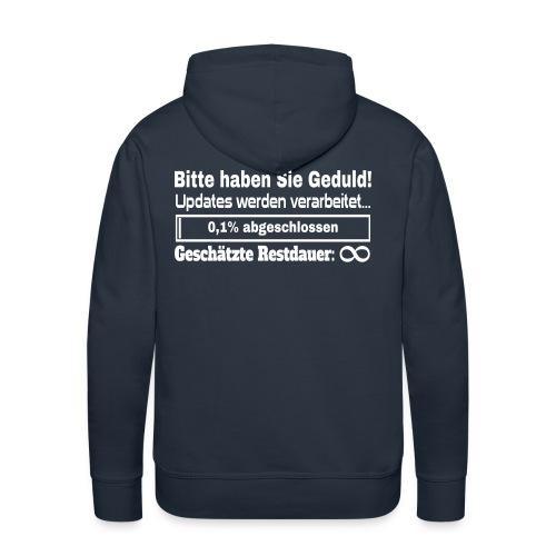 System Update Hoodie - Männer Premium Hoodie