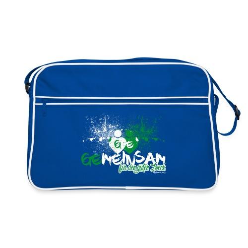 GEmeinsam - Schultertasche - Retro Tasche