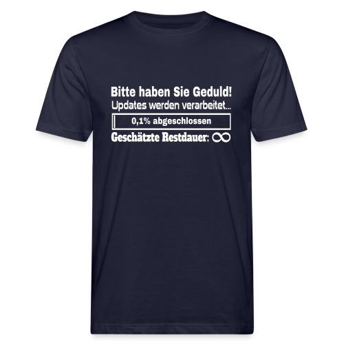 System Update Bio T-Shirt - Männer Bio-T-Shirt