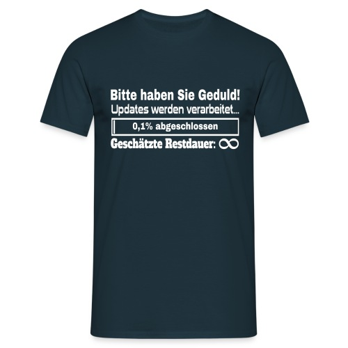 System Update T-Shirt - Männer T-Shirt