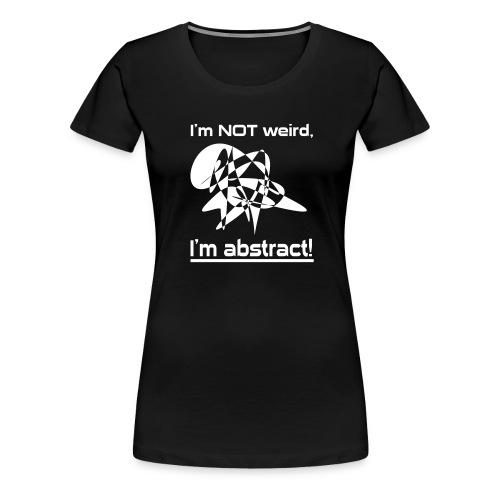 I'm abstract Nerd T-Shirt - Frauen Premium T-Shirt
