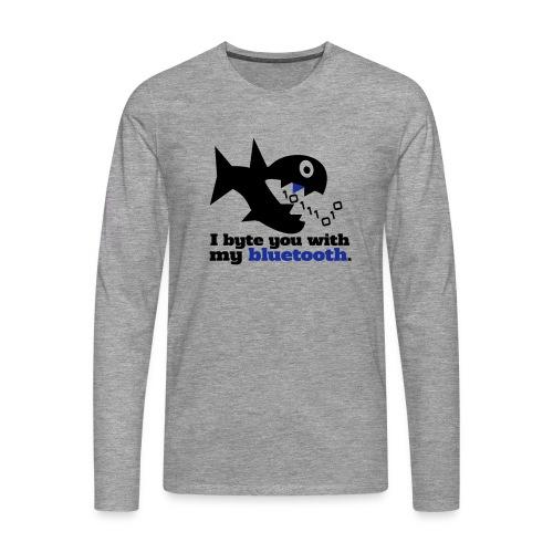Byte you Langarm Shirt - Männer Premium Langarmshirt