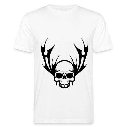 Schädel-T-shirt - Männer Bio-T-Shirt