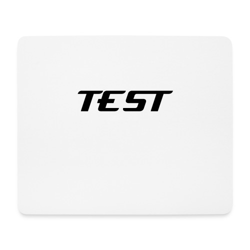 TEST MOUSE PAD - Mouse Pad (horizontal)