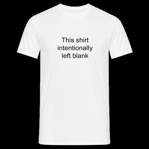 Blank shirt (men) - Men's T-Shirt